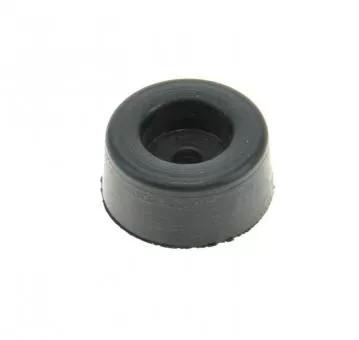 Geraetefuss 21x10mm Loch 3mm fuer Rancilio 0